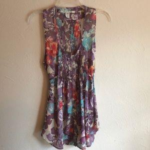 American Rag floral tunic